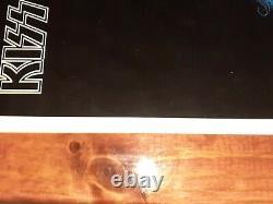 Kiss Ace Frehley Excellent État Solo Album 1978 Aucoin Poster Très Rare