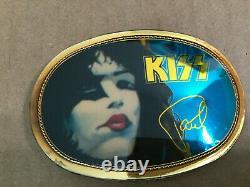 Kiss Paul Stanley & Gene Simmons Ceinture Buckle Pacifica 1977 Excellent+ État