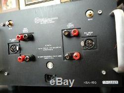 Krell Ksa-150 Amplificateur De Puissance-box-les Originaux D'excellentes Conditions De Travail