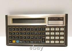 L2 HP 71b Hewlett Packard Calculatrice Dans La Boîte D'origine Excellent État