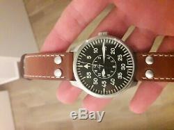 Laco Aachen 42 Pilote Automatique Watch (occasion Et En Excellent État)