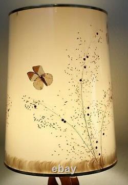 Lampe Van Briggle Avec Ombre Originale, Excellent État
