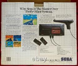 Le Système Sega Master, En Boîte Originale, 1987, En Excellent État De Fonctionnement