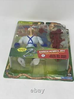 Le Ver De Terre Jim Figure 1994 Playmates Red Version Excellent État