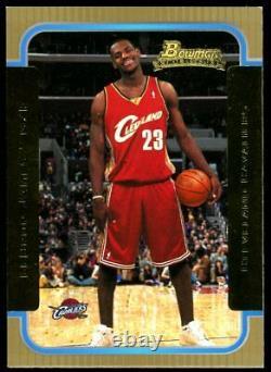 Lebron James 2003-04 Bowman Gold Rookie Card #123 Excellent État Rc