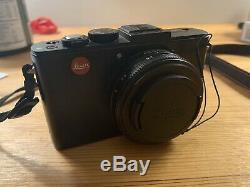 Leica D-lux 6 10.0mp Appareil Photo Numérique Noir, Excellent Etat, En Original Box