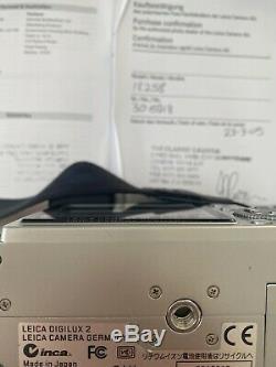 Leica Digilux 2 Appareil Photo Numérique Avec La Boîte D'origine, Excellentes Conditions