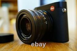 Leica Q, Excellent État, Boîte D'origine Avec 2 Batteries De Rechange