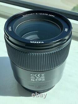 Leica Summarit-s 70mm F/2.5 Objectif Asph Excellent État Dans Le Sac Original