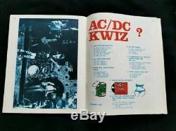 Les Ac / DC Rareté Dirty Deeds Done Dirt Cheap 1976 Livre Poo Excellent Etat