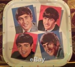 Les Beatles Plateau 1964 Worchester Original __gvirt_np_nn_nnps<__ Excellentes Conditions