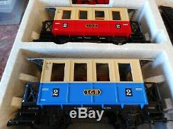 Lgb 20301 Us Train De Voyageurs Complet Withoriginal Box-excellent État