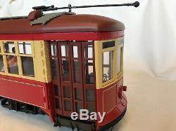 Lgb 24380 Chicago Streetcar Wrigley Field Avec La Boîte D'origine, Excellentes Conditions