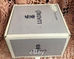 Lladro 6568 Kitten Patrol Retraité Excellent État! Original Gris Box! Rare