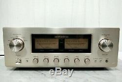 Luxman L-505ux Amplificateur Intégré En Excellent État Avec Boîte Originale