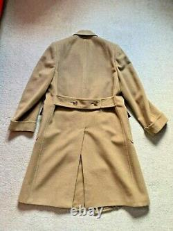 Manteau Polo Camel Vintage Homme, Taille 40r, Union Made, Excellent État