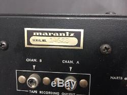 Marantz 7t Préampli Vintage En Excellent État D'origine