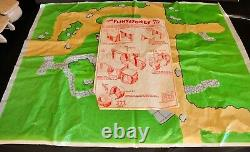 Marx Original Flintstones Play Set # 5948 Presque Complet En Excellent État