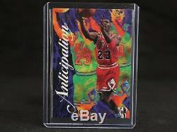 Michael Jordan 1995-1996 Flair Anticipation Insérer La Carte # 2 Excellent État