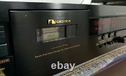 Nakamichi Dr-10 Cassette Deck Excellente Condition De Travail Manuel Original Super