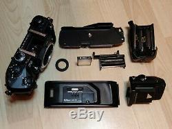Nikon F4s Excellent État + Mf-22 Retour Données Avec Boite D'origine + Instructions