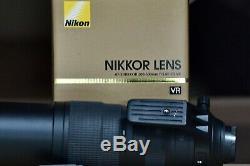 Nikon F5.6e Ed Vr Af-s Objectif Excellent État, Boîte D'origine