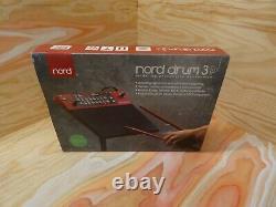 Nord Tambour Drum Machine 3p Avec Boîte D'origine Excellent État