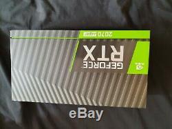 Nvidia Rtx 2070 Super Fondateurs Édition Excellent Etat, Original En Plastique
