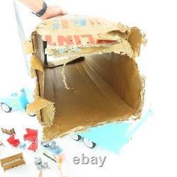 Nylint Maison Mobile N ° 6601 Avec Boîte D'origine Et De Meubles Excellent Etat