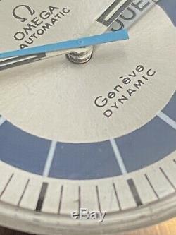 Omega Geneve Dynamique Automatique Montre Homme En Excellent État D'origine