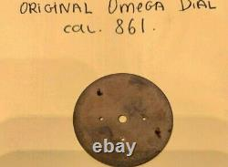 Omega Speedmaster Originale Noir Professional Dial, Excellent Etat