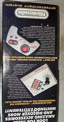 Original 1988 Nintendo Nes Action Set Box Seulement Excellente Condition Voir Les Pictures