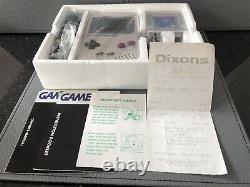 Original Nintendo Game Boy Console Boxed Avec Tetris Excellent État