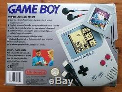 Original Nintendo Game Boy Dmg-01 Boxed, Complet, Excellent État