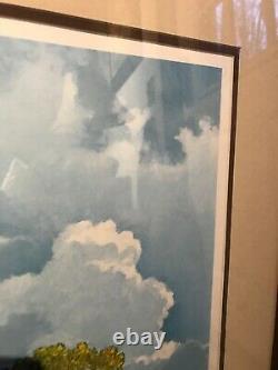 Original Signé Eric Sloane Art -excellente Condition De La Peinture Indienne Brosses 950