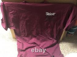 Original Vintage Slipknot T-shirt 1999 Taille XL Excellent État Heavy Metal