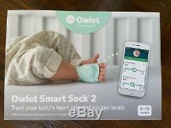 Owlet Intelligent Sock 2 Babyphone Emballage D'origine, Excellent État
