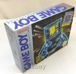 Package Gameboy Original Entièrement En Boîte Avec Tetris Excellent À La Menthe