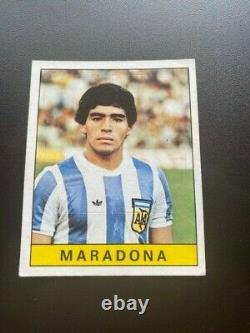 Panini Diego Maradona Rookie Panini Calciatori 1979-80 Excellent État