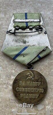 Partisan 2ème Urss Russie Soviétique Deuxième Médaille Original Condition Excellente