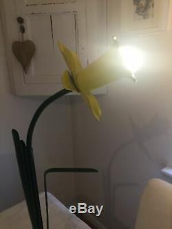 Rare1980s Pop Art Jonquille Lampe De Table Mike Bliss Excellent État D'origine