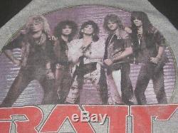 Ratt 1985 Original Vintage Tour Shirtmediumexcellent Conditionmega Rare