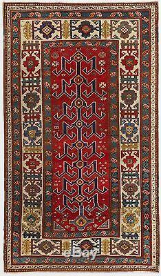 Remarquable Antique Caucasien Kazak Tapis, Ca 1870, Excellent État D'origine