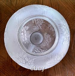 René Lalique Esterel Vase Excellent État Signé R Lalique (rené)
