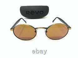 Revo Oval Mirror 962 010 Lunettes De Soleil Vintage Excellent État
