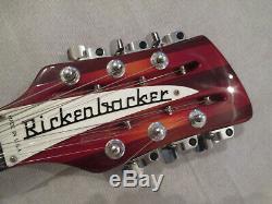 Rickenbacker 360/12 En Excellent État Fireglo Avec Le Cas Original