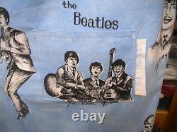 Robe De Beatles Et Sac D'album, Fait À La Main, Vers 1964, Les Deux En Excellent État