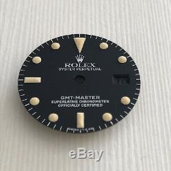 Rolex 1675 Gmt Master Tritium Dial Et Combiné Excellent Condition 100% Original