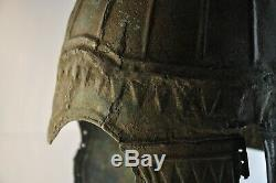 Scythes Casque De Bronze 8 Cent Ad Excellent État Original31