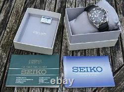 Seiko 5m62-0bl0 Kinetic Diver Ska413 (ska371) Bfk Excellent État D'origine